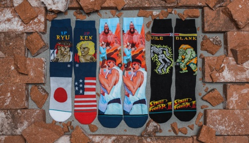Street Fighter II - Stance Socks