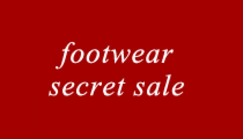 The Footwear Secret Sale!