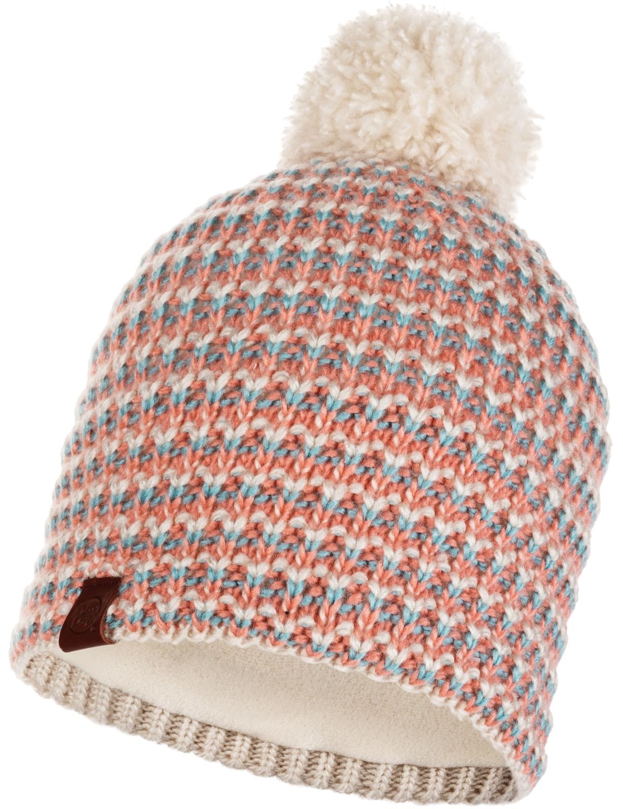 Buff Dana Knitted Bobble Hat  ac2b2c27a34