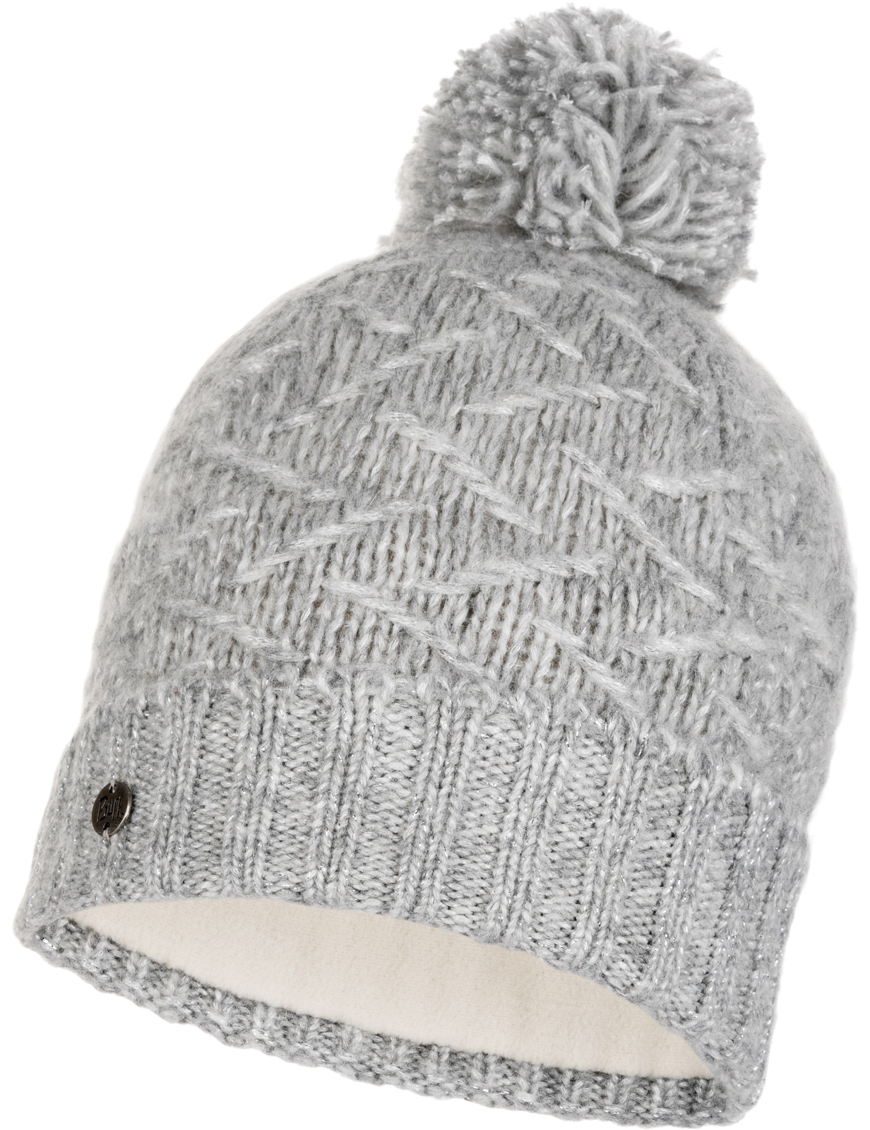 Buff Ebba Knitted Bobble Hat  434903112f3