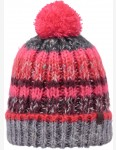 Barts Mos Bobble Hat in Heather Grey