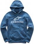 Alpinestars Always Pullover Hoody in Blue