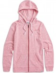 Animal Changing Tides Zipped Hoody in Calypso Coral Red