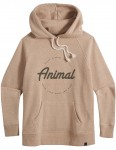 Animal Speckles Pullover Hoody in Vanilla Cream Marl