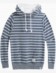 Animal Wrapped Up Pullover Hoody in Dark Navy