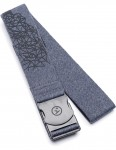 Arcade Time Warp Webbing Belt in Black/Navy