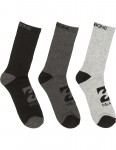 Billabong Sports 3 Pack Crew Socks in Assorted