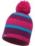 Buff Fizz Bobble Hat in Pink Honeysuckle