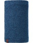 Buff Lyne Knitted Neck Warmer in Mazarine Blue