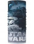 Buff New Original Neck Warmer in Star Wars Tie Defensor Flint Stone