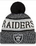 New Era Oakland Raiders Bobble Hat