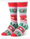 Odd Sox Christmas Sweater Crew Socks