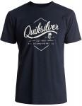 Quiksilver Sea Tales Classic Short Sleeve T-Shirt in Navy Blazer