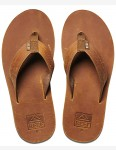 Reef Voyage LE Leather Sandals in Brown/Bronze