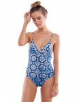 Rhythm Pasha Swimsuit in Navy