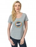Rip Curl Wisler Tee Short Sleeve T-Shirt in Cement Marl