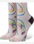 Stance Bird Brain Lowrider Crew Socks in Pink