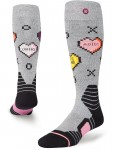 Stance Candy (Silje Norendal Pro Model) Snow Socks in Grey
