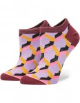 Stance Clutch Invisible Boot Crew Socks in Purple