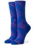 Stance Fluid Crew Socks in Blue