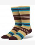 Stance Hyena Socks in Burgundy