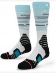 Stance Lone Peak Snow Socks in Light Blue