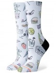Stance Shopping List Crew Socks in White
