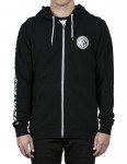Volcom Burger X Vlcm Full Zip Fleece in Black