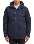 Volcom Renton Winter Jacket in Navy