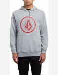 Volcom Stone Pullover Hoody in Grey