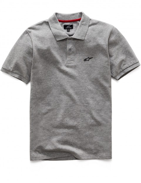 Alpinestars Effortless Polo Shirt in Grey Heather