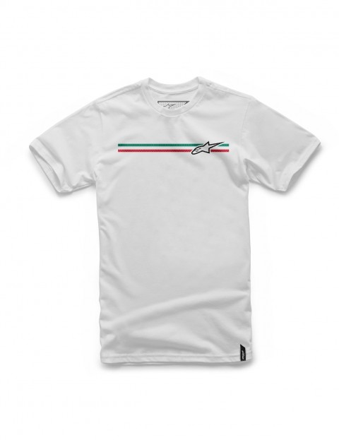 Alpinestars Finish Short Sleeve T-Shirt in White