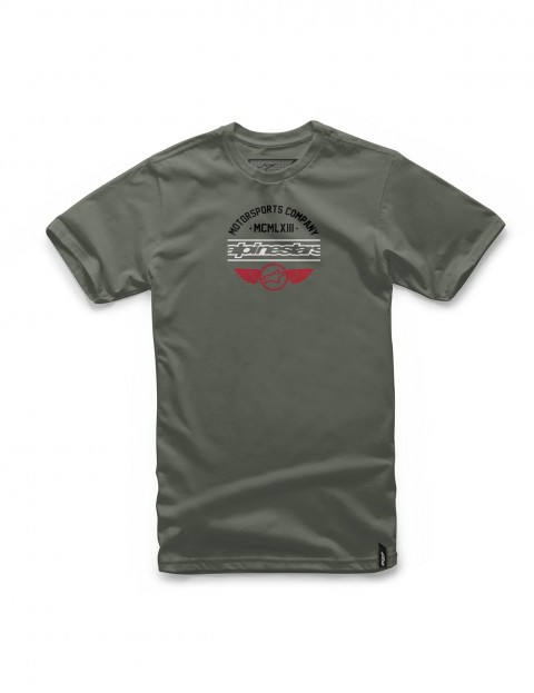 Alpinestars Jefe Short Sleeve T-Shirt in Military
