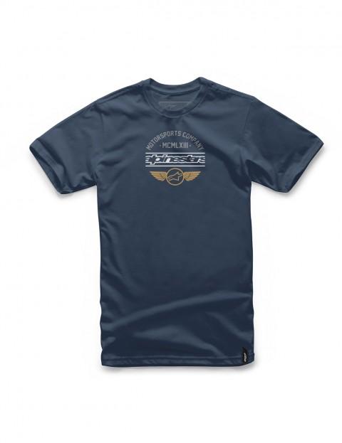 Alpinestars Jefe Short Sleeve T-Shirt in Navy