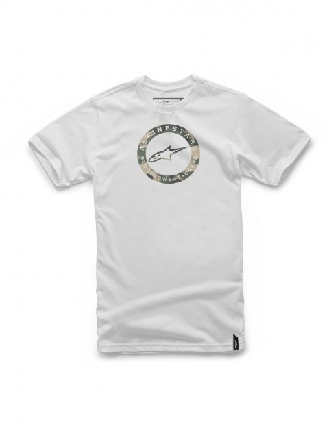 Alpinestars Ring Short Sleeve T-Shirt in White