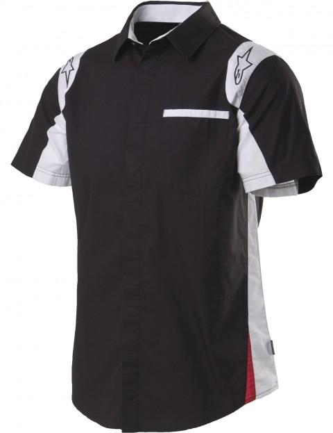 Alpinestars Sao Paolo Short Sleeve Shirt in Black