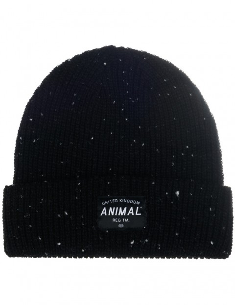 Animal Allex Beanie in Black