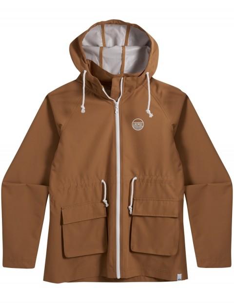Animal Byron Jacket in Toffee Apple Brown