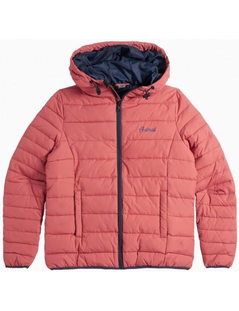 Animal Rainee Jacket in Redwood Orange