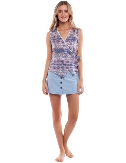Rhythm Arabella Sleeveless T-Shirt in Multi