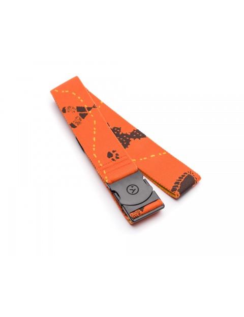 Arcade Adventureland Webbing Belt in Orange