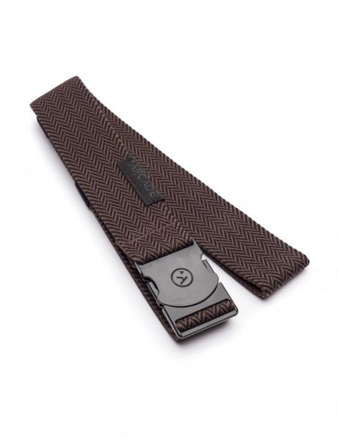 Arcade Hemingway Webbing Belt in Black/Brown