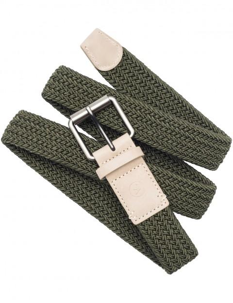 Arcade Hudson Webbing Belt in Ivy Green