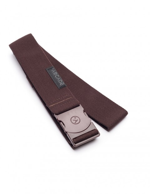 Arcade Mustang Webbing Belt in Brown