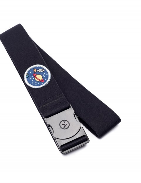 Arcade Rambler Space Camp Webbing Belt in Black/Space
