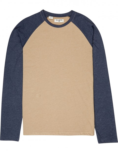 7a57b7f6 Billabong All Day Long Sleeve T-Shirt in Gravel | hardcloud.com