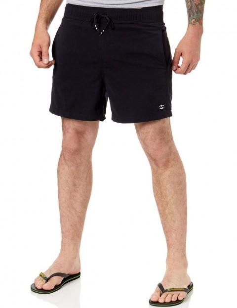 Black Billabong All Day Layback Elasticated Boardshorts