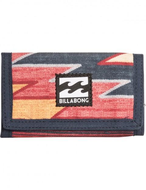 Billabong Atom Polyester Wallet in Navy