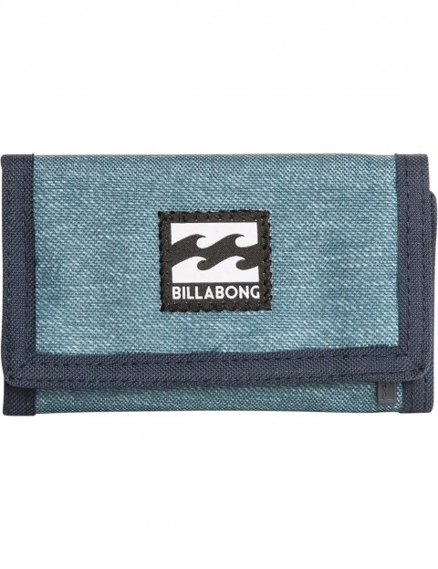 Billabong Atom Polyester Wallet in Navy Heather