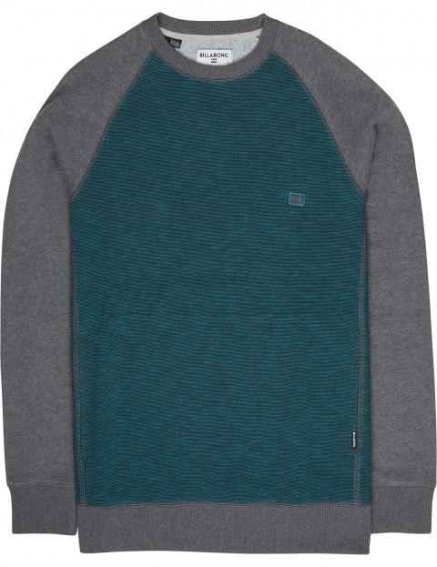 abd415ced5d6 Billabong Balance Crew Sweatshirt in Emerald | hardcloud.com